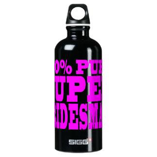 Cool Pink 4 Bridesmaids : Super Bridesmaid Water Bottle