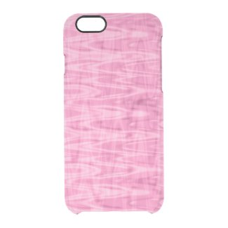 Cool Pink Abstract Pattern Uncommon Clearly™ Deflector iPhone 6 Case