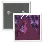Cool Pink And Purple Dragon Pin