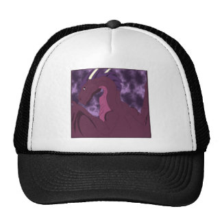 Cool Pink And Purple Dragon Trucker Hat
