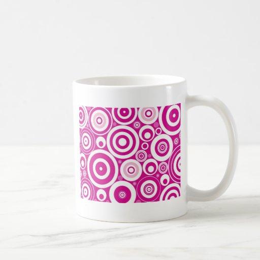 Cool Pink Circles Coffee Mug