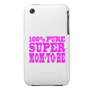 Cool Pink Gifts 4 Moms to Be : Super Mom to Be iPhone 3 Case