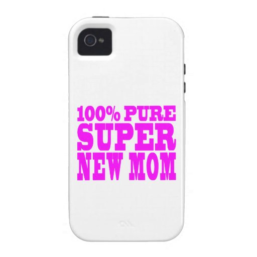 Cool Pink Gifts 4 New Moms : Super New Mom iPhone 4/4S Cover