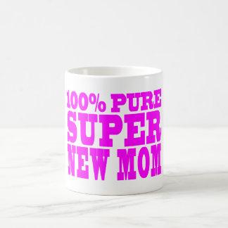 Cool Pink Gifts 4 New Moms : Super New Mom Coffee Mug