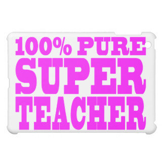 Cool Pink Gifts 4 Teachers 100% Pure Super Teacher Cover For The iPad Mini