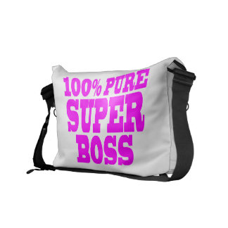Cool Pink Gifts for Bosses 100 Pure Super Boss Courier Bag