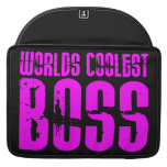 Cool Pink Gifts for Bosses : Worlds Coolest Boss Sleeve For MacBook Pro