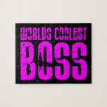 Cool Pink Gifts for Bosses : Worlds Coolest Boss Jigsaw Puzzles