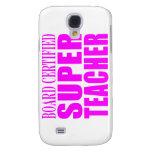Cool Pink Gifts for Teachers : Super Teacher Samsung Galaxy S4 Cover