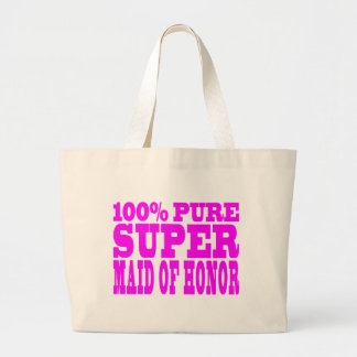 Cool Pink Maids of Honor : Super Maid of Honor Canvas Bag