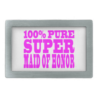 Cool Pink Maids of Honor : Super Maid of Honor Belt Buckle