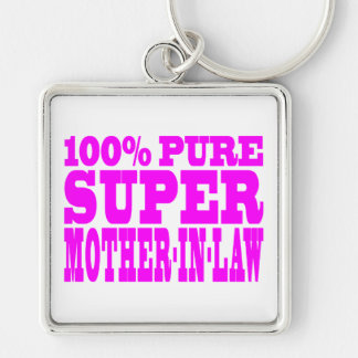 Cool Pink Mothers in Law : Super Mother in Law Keychains