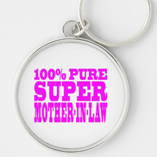 Cool Pink Mothers in Law : Super Mother in Law Keychain
