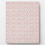 cool pink pattern display plaque