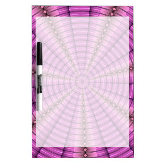 Cool Pink Purple Tunnel Fractal Pattern Gifts Dry Erase Board