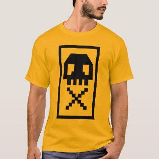 Cool Pixel Skull Punk Shirt