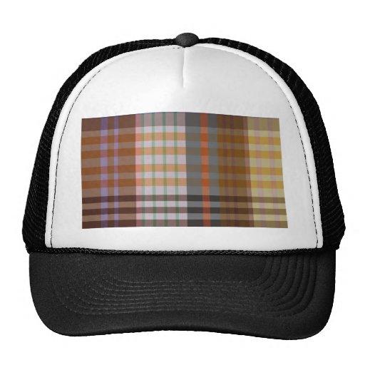 cool plaid trucker hat zazzle