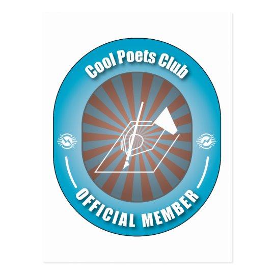 Cool Poets Club Postcard