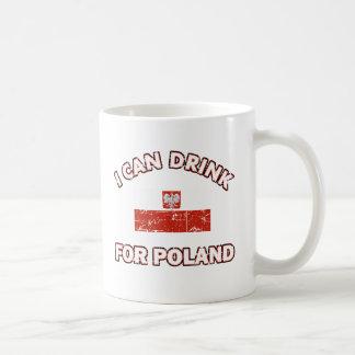 Cool Poland Drinking Designs Classic White Coffee Mug