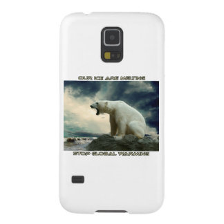 cool POLAR BEAR AND GLOBAL WARMING designs Case For Galaxy S5