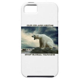 cool POLAR BEAR AND GLOBAL WARMING designs iPhone SE/5/5s Case