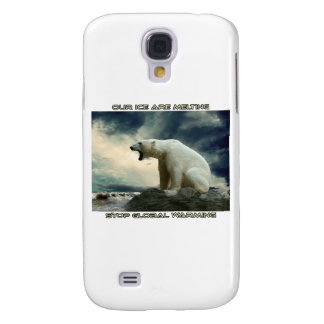 cool POLAR BEAR AND GLOBAL WARMING designs Samsung S4 Case