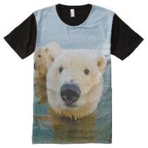 cool Polar bear designs All-Over-Print T-Shirt