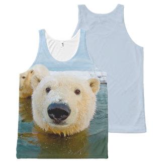 cool Polar Bear designs All-Over-Print Tank Top