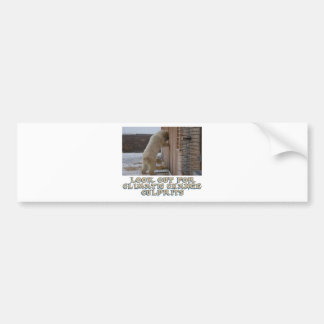 cool Polar bear designs Bumper Sticker