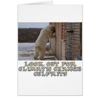 cool Polar bear designs Card
