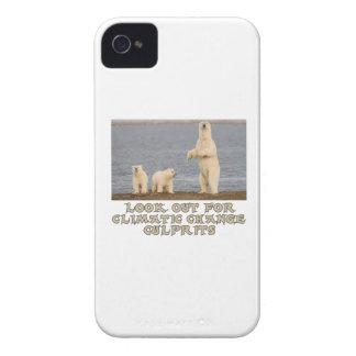 cool Polar bear designs Case-Mate iPhone 4 Case