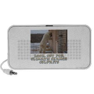 cool Polar bear designs iPod Speaker