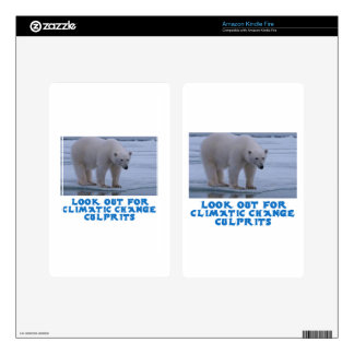 cool Polar bear designs Kindle Fire Decals