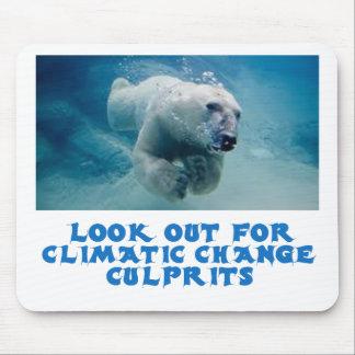 cool Polar Bear designs Mouse Pad