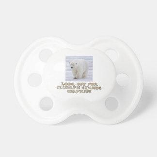 cool Polar bear designs Pacifier