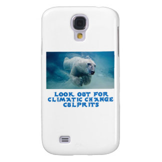 cool Polar Bear designs Samsung Galaxy S4 Case
