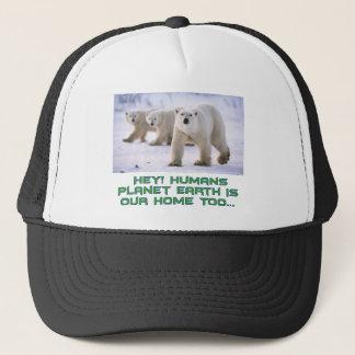 cool Polar Bear designs Trucker Hat