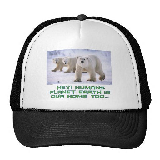 cool polar designs trucker hat zazzle