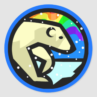 Cool Polar Bear Stickers