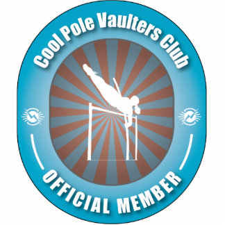 Cool Pole Vaulters Club Cut Out