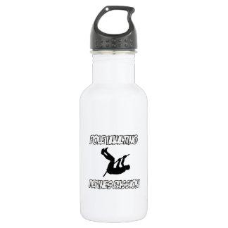 Cool POLE VAULTING designs 18oz Water Bottle