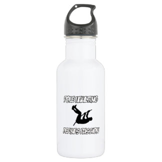 Cool POLE VAULTING designs Water Bottle
