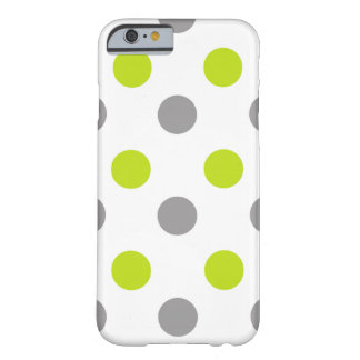 Cool Polka Dot Pattern Barely There iPhone 6 Case