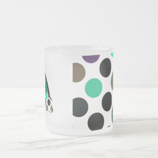 Cool Polka Dot Rainbow Mug