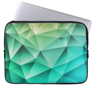 Cool Polygons Geometric Pattern Computer Sleeve