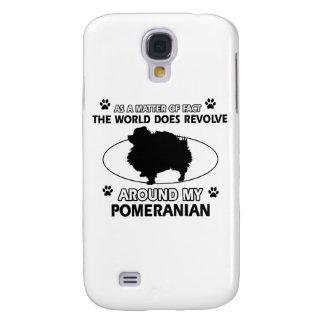 cool POMERANIAN designs Galaxy S4 Cover