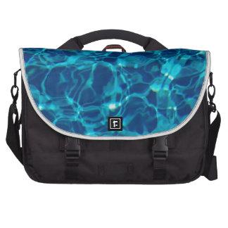 Cool Pool in Dark Blue Laptop Bags