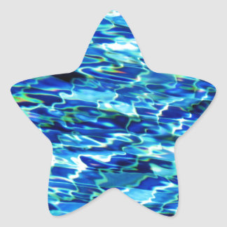 Cool pool water tiles HFPHOT24 Star Sticker