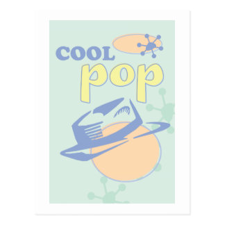 Cool Pop- Minty Cool Postcard