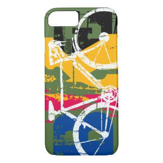 cool pop urban bike - biking iPhone 8/7 case